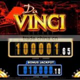 Da Vinci Bingo Dual Screen & Jackpot Game Board PCB