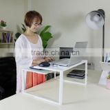 portable Laptop Table with 4 USB-Powered cooling fan Computer Desk Portable Bed Tray Book Stand Push Button