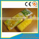 High speed banana ice cream flavory soft drink plastic tube filling and sealing packing machine