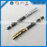High End Relievo Metal Roller Pens ,Black Relievo Metal Fountain Pens Wholesale
