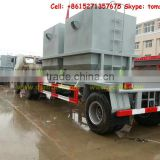 DTA semi Trailers truck 1 axle trailer Customization sale call:+86-152 -7135-7675
