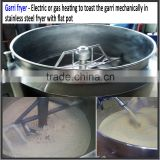 Ghana loved cassava flour roasting gari processing machine /gari fryer/gari frying machine for sale