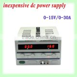 Light and compact design constant current constant voltage adjustable dc regulated power supply
