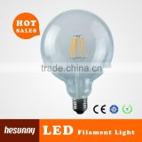 2015 new style G125 8W led filament bulb,360 beam angle led filament bulb with TUV CE ROHS