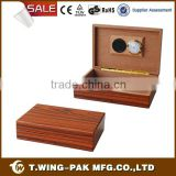 Wooden cigar boxes suppliers, humidor for 5-20 cigars