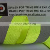 striped Knitted elastic webbing