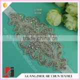 HC-7561-1 Hechun Bling Rhinestone Crystal Wedding Bride Sash