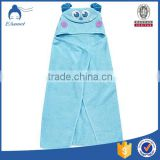 China 100% cotton wholesale 100% cotton Super Soft baby kids hooded towel