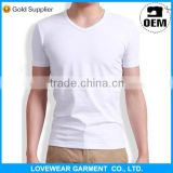Wholesale 100% Cotton Plain White Tshirts for Men                                                                         Quality Choice