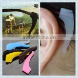 silicone rubber anti-slip holder stopper for sunglasses glasses temple tip Strengthening device accessaries ear