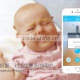 Children iFever intelligent wearable electronic thermometer Bluetooth smart baby monitor household