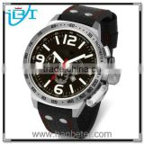 Hotselling&Popular Classical Elegant Crown Quartz Stainless Steel vogue watch leather