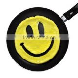 Eco-friendly custom face shape breakfast pancake silicone egg mold/Cartoon DIY baby fried egg cooking mould
