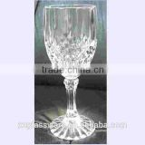 Clear machine made cheap 8 oz wholesale red wine glasses                                                                         Quality Choice