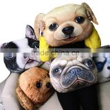 House Hold Creative Cartoon Animal-shaped Seat Cushion Cove Doggy Car Seat Sofa Pillow Cover