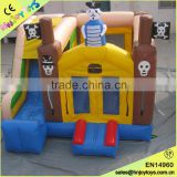 4x4x3.5m Commercial Inflatable Bouncy Houses Air Castle