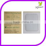 Herbal ingredients fast weight loss and fat burning stomach waist leg arm slimming patch