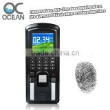 Color screen RFID& Fingerprint time attendance and door access Arabic software, Fingerprint Access Control