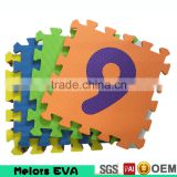 Melors Discount Letters & Numbers Puzzle Play Mat 36 Tiles EVA Foam Rainbow Floor baby play mat interlocking mats