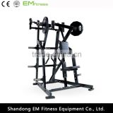 Iso-lateral low row hammer strength weight lose gym machine