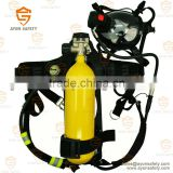 EN137 mining Industrial self contained breathing apparatus SCBA 6L steel cylinder - Ayonsafety