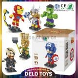 china shantou chenghai plastic toy diamond bricks construction blocks super hero loz bricks DE0262252