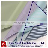 polyester polyester bamboo charcoal spandex yarn dyed stripe french terry fabric with deodor far infrared