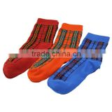 GSC-08 2015 Hot sell fashion square children bamboo elite socks with custom design