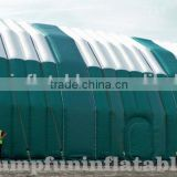 100ft large inflatable building customized for outdoor warehouse 30m giant inflatable tents