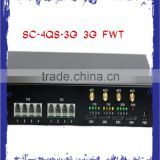 SC-4QS-3G 3G FWT 4 ports , 4 ports Analog GSM Fixed wireless Terminal, Analog GSM Gateway 4 ports
