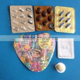 DPB-250E packing machine type chocolate blister packing machine with plastic blister and film