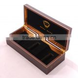 Chinese factories wholesale luxurious wooden essence oil box, brown perfume boxes, gift boxes