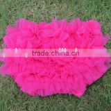 Fashion chiffon bloomers ,kids wear comfortable diaper cover, children cloth chiffon bloomer for wholesale