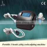 Loss Weight Hot Seller Portable Cryolipolysis Fat Freezing Machine 3 Heads For Fast And Safe Body Shaping Body Reshape