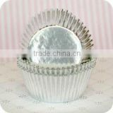 wholesale party baby food cups zebra foils crown gold cupcake liners