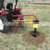 post hole digger HD-9, 9''drill diameter auger, PTO shaft with tractor