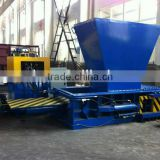 Hot Sale Hydraulic Scrap Aluminium Can Compact Baler With Hopper