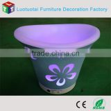 bright color led rotomolded ice cooler/bucket