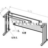 Steel desk frame table frame steel legs office furniture legs frames length adjustable metal frames