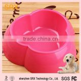 plastic dog dish cheap / plastic non slip dog bowl/hot sale disposable melamine non slip dog bowl