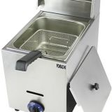 Table Top Gas Fryer 1 Tank 1 Basket  Gas Fryer FMX-WE71