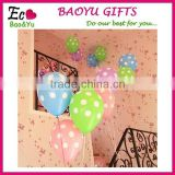 Polka Dot Latex Wedding Balloons Sales Promotion Party Balloon