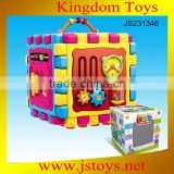 hot educational block toy plastic puzzle box for gift
