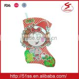2015 New style wholesale christmas stockings