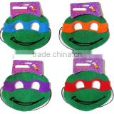 TEENAGE MUTANT NINJA TURTLES PAPER MASK FAVORS ~ Birthday Party Supplies