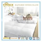 Soft White Goose Down Mattress Pad/Mattress Topper/Bed Mattress