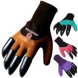 Seeway Cold Weather Winter Working Gloves Rubber Garden Gloves