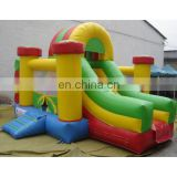 Inflatable bouncer Slide combo game,Inflatable jump Slide game with customized colour artwork