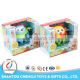 China manufacturer attractive plastic baby rattles teether for sale