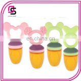 Hot selling creative fashion cute baby fruit vegetable feeder